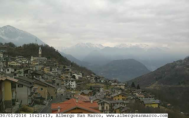Webcam Sacco - Valgerola Live webcamera